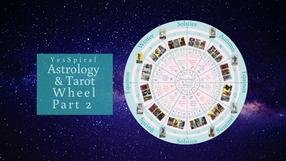 Astrology and Tarot Wheel Part 2