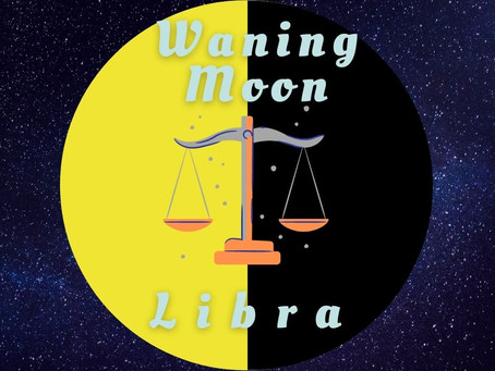 Waning Moon in Libra