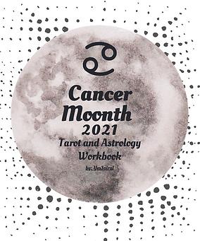 Cancer New Moon Tarot and Astrology Workbook