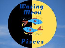 Waxing Half Moon in Pisces