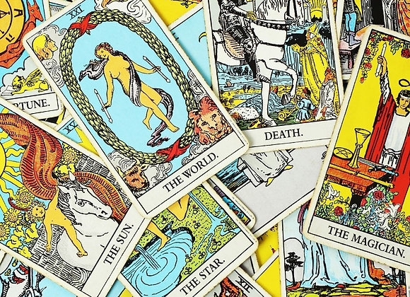 Past, Present, Future Personal Year Tarot Cards