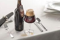 Granitbock Glas, Steinbier, Gedeck, Craftbeer,