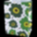 GB-E6-028-ถุงขนม_ถุงกิ๊ฟช็อป ลายกรีนฟลาว