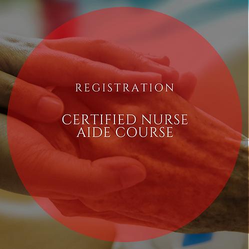 Nurse Aide Training Registration