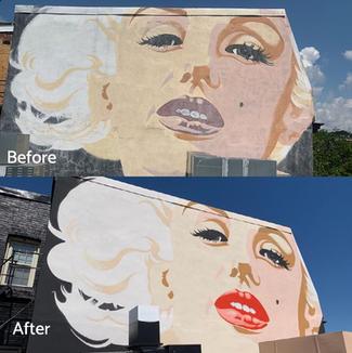 Marilyn Monroe Restoration