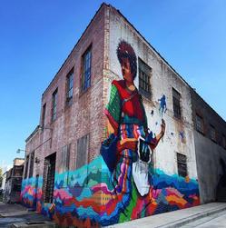 Acidum mural at 4115 Kansas Avenue NW