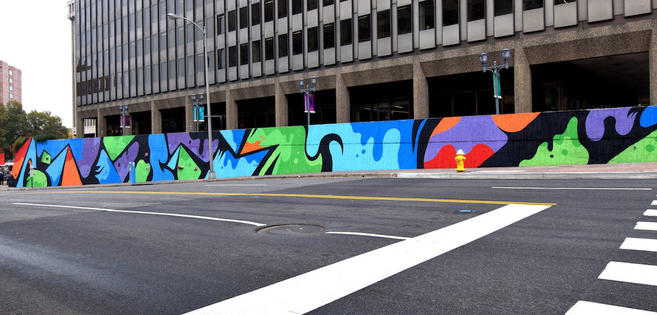 18th Street mural in Crystal City