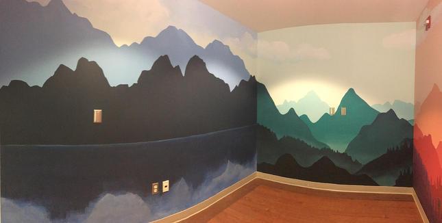 Sibley Hospital quiet room
