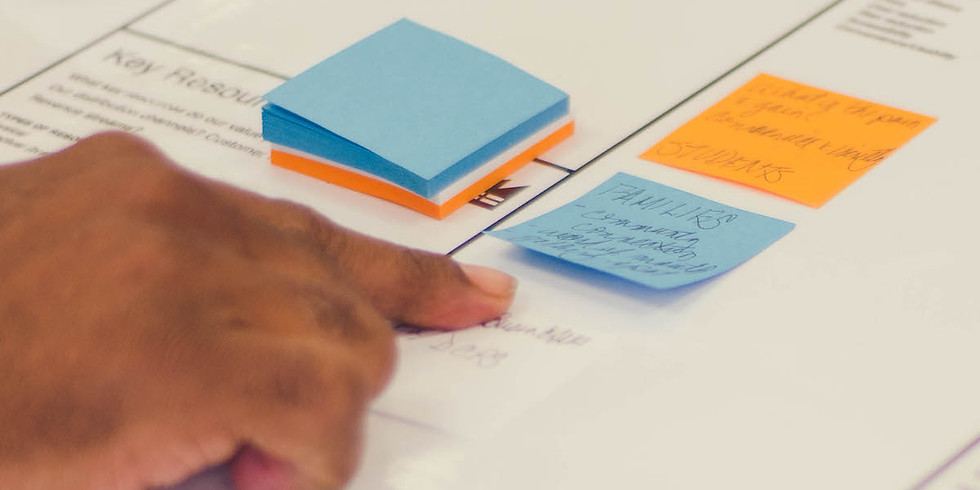 Intro to Lean Startup / Business Model Canvas: Startup Saturday Entrepreneurship Class