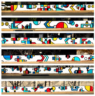 Route 1, Crystal City mural