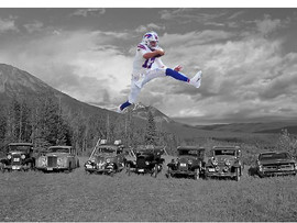 Josh Allen leaps from Wyoming mountains to NFL main stage