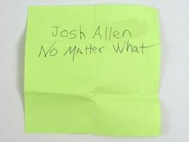 Buffalo Bills brass almost crashes for Josh Allen