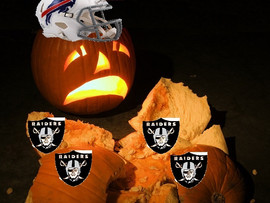 Buffalo Bills smash Oakland Raiders like a pumpkin