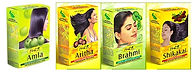 אבקות הודיות להכנת מסיכת שיער