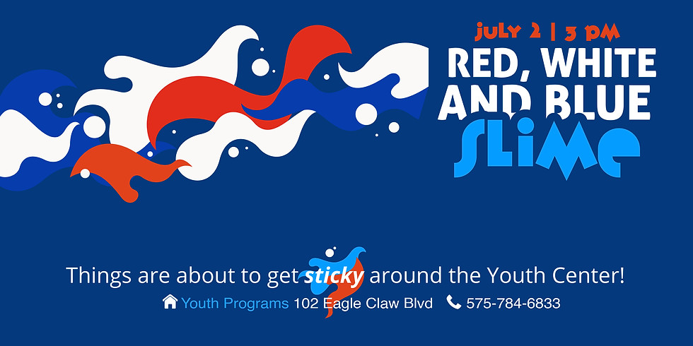 Red, White and Blue Slime