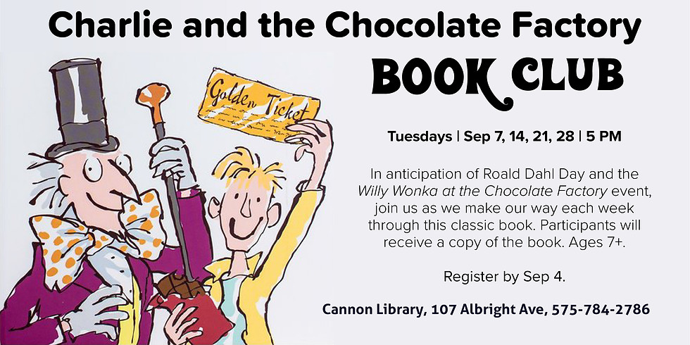 Charlie and the Chocolate Factory Book Club
