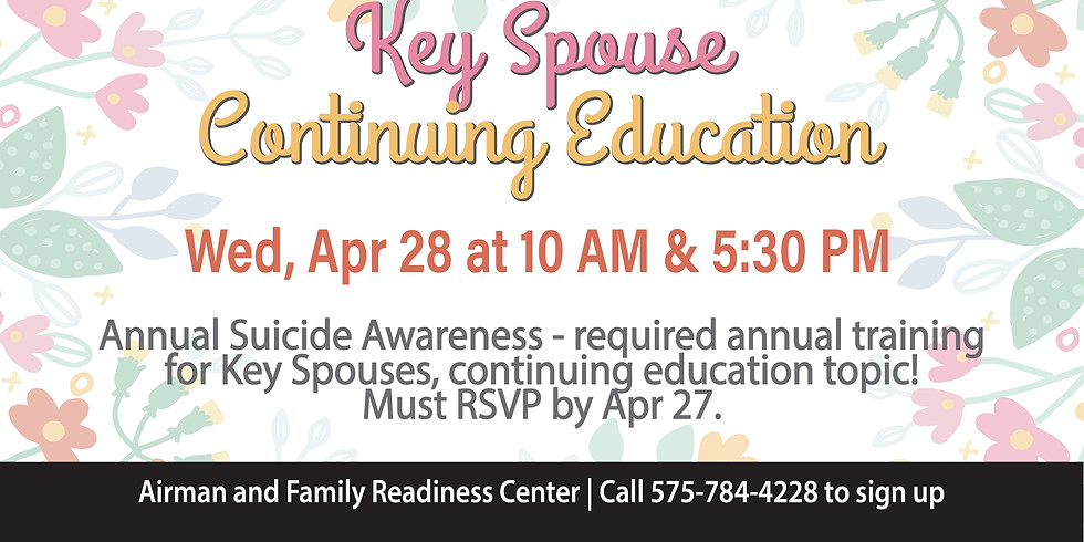 Key Spouse Continuing Education