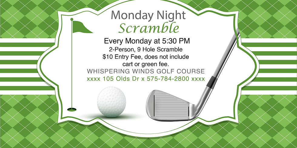 Monday Night Scramble