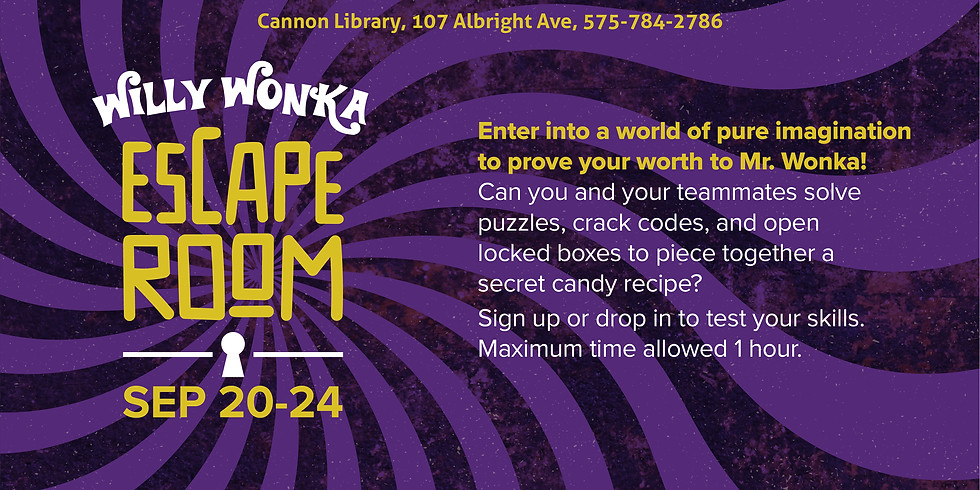 Willy Wonka Escape Room