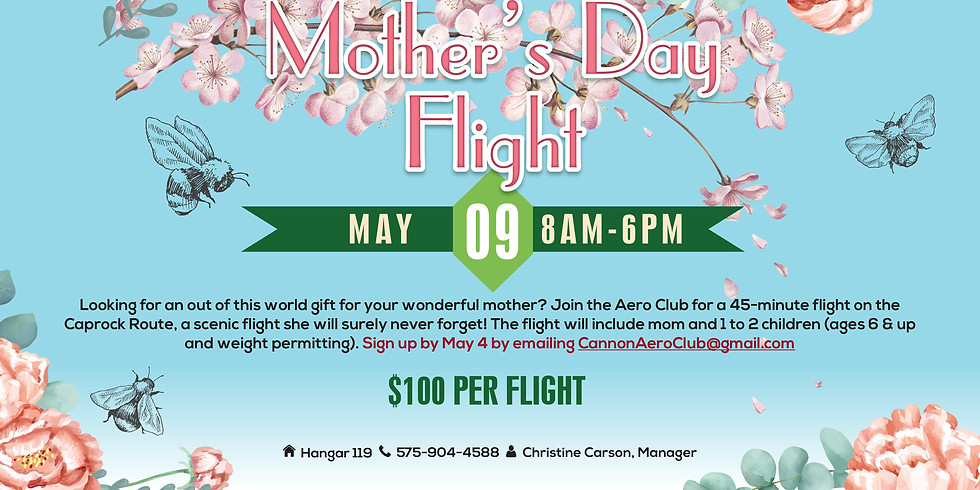 Mother's Day Flights
