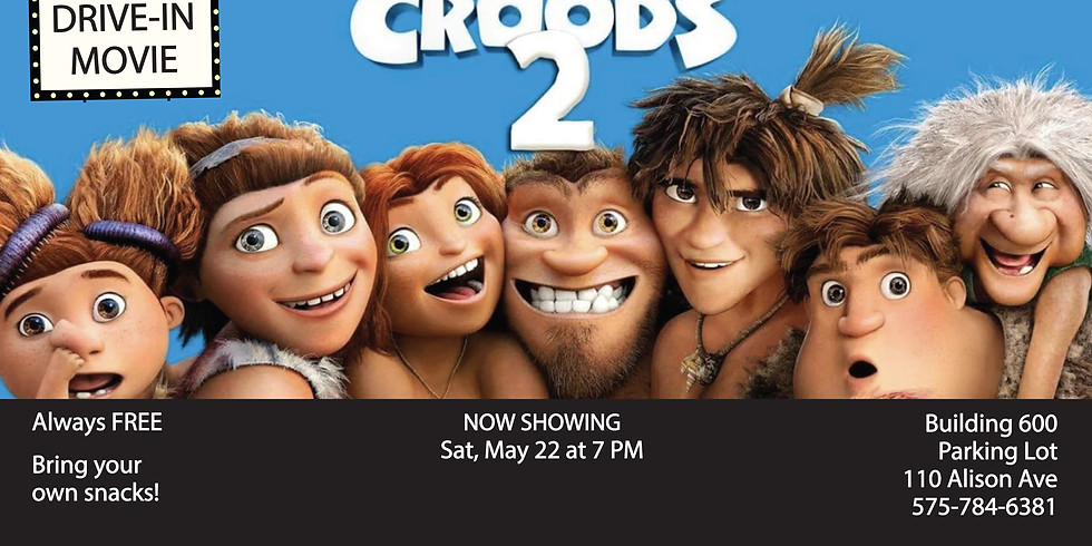 Drive In Movie: The Croods 2: A New Age