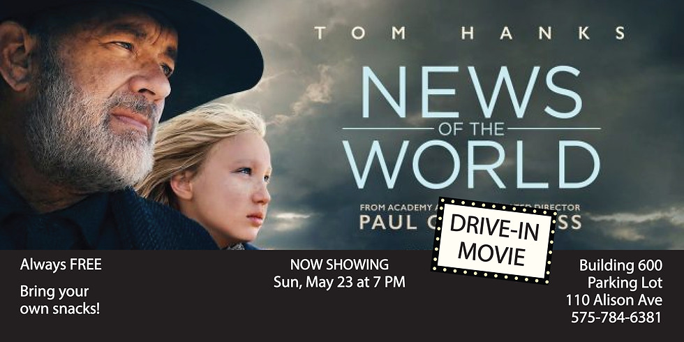Drive In Movie: News of the World