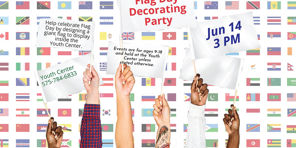 Flag Day Decorating Party
