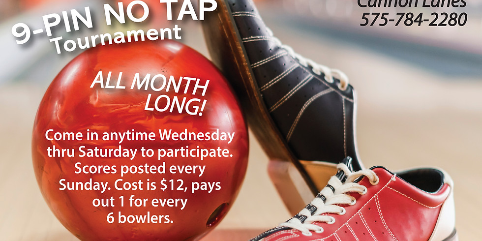 9 Pin No Tap All Month Long