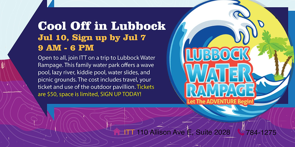 Cool Off in Lubbock