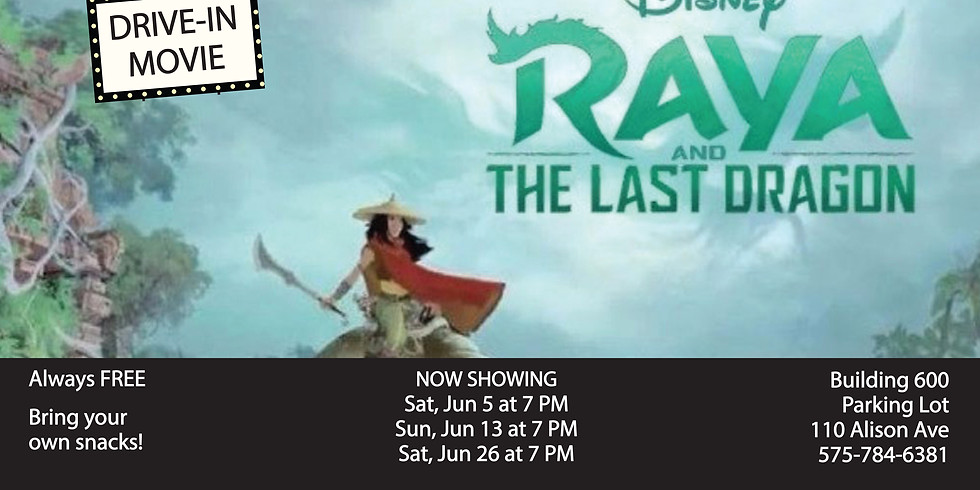 Drive In Movie: Raya and The Last Dragon