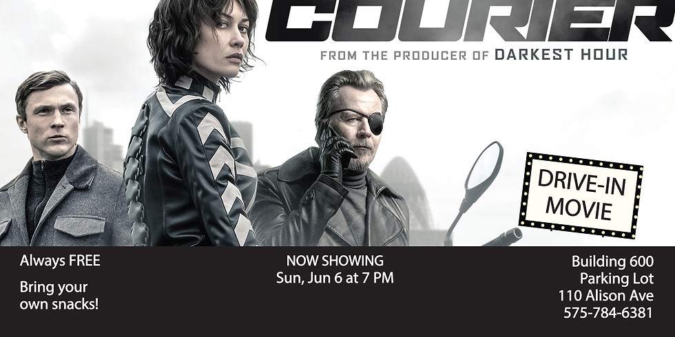 Drive In Movie: The Courier