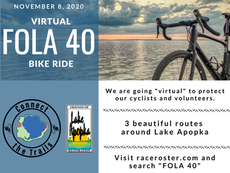 Virtual FOLA 40 Bike Ride
