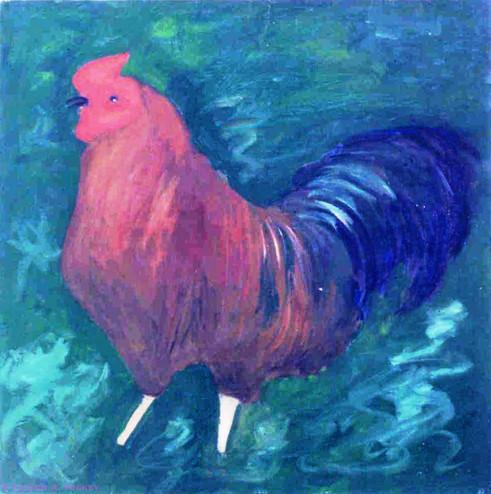 Jamaican Rooster. 1982.jpg