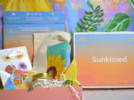Behind the art: Sunkissed, the artbox.