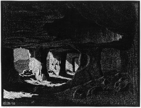Cave Dwellings (near Sperlinga), Sicily