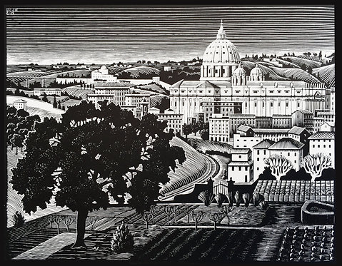St. Peter's from the Gianicolo (Rome)