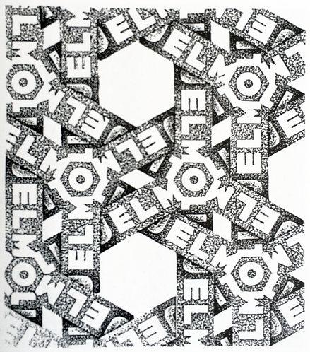 Design for wrapping paper: Jelmoli (III)