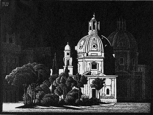 Nocturnal Rome: Small Churches, Piazza Venezia