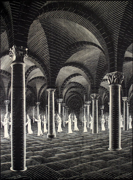 Procession in Crypt