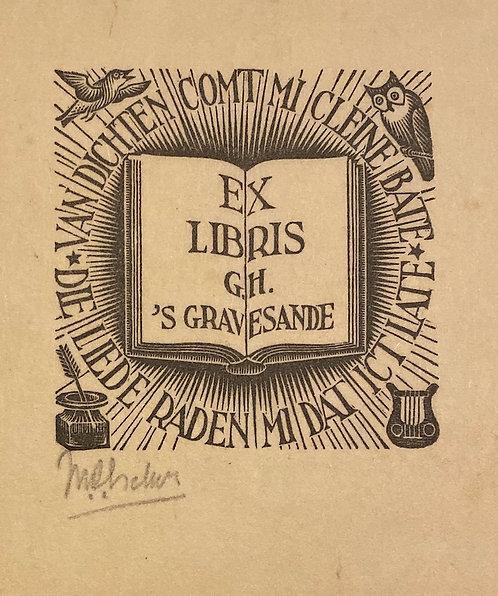 ex libris G.H.'s-Gravesande