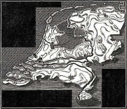XXIIme Congrés Postal Universel: illustration