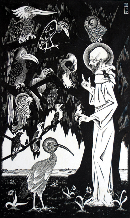 Saint Francis (Preaching to the Birds)