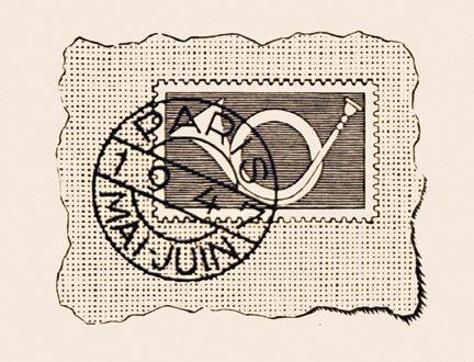 XIIme Congrés Postal Universel: vignette