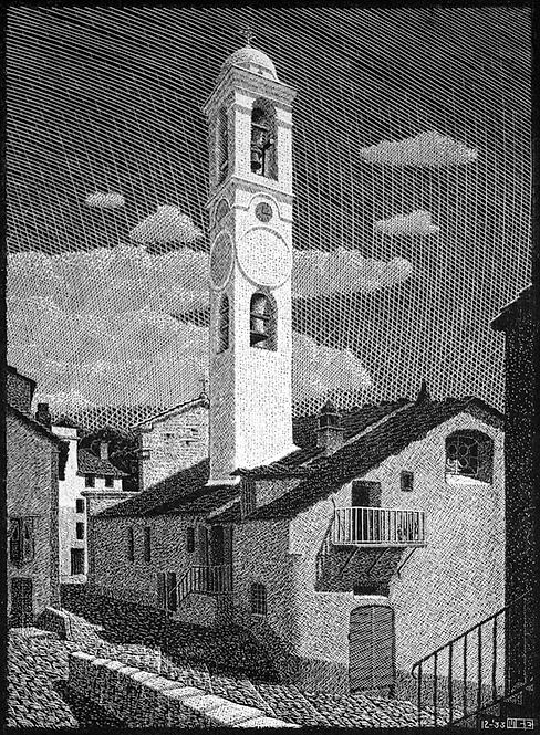 Church at Corte, Corsica