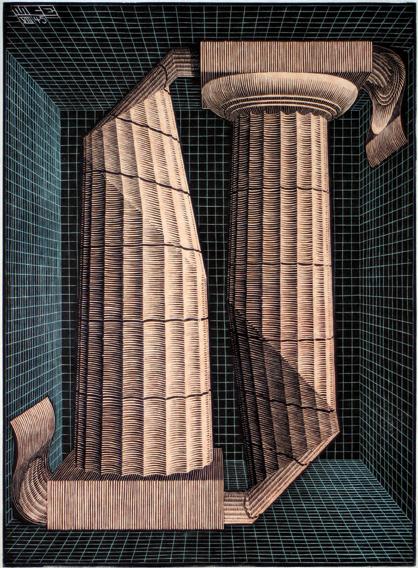 (Two) Doric Columns