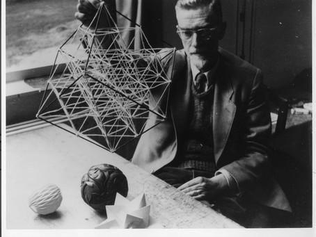 Escher working in three dimensions