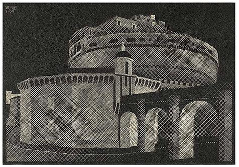 Nocturnal Rome: Castel Sant'Angelo