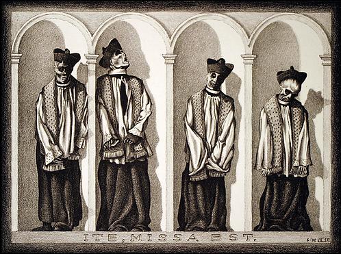 Mumified Preists in Gangi, Sicily