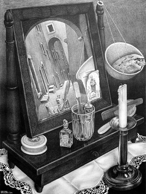Still Life with Mirror