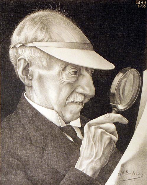 Portrait of G.A. Escher